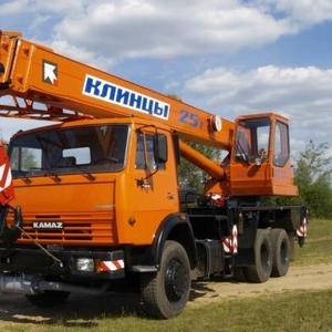Автокран КС-55713-5К Клинцы на шасси КамАЗ-43118