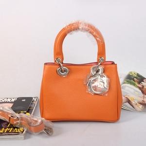 Dior мини Diorissimo Зернистая кожа сумка D2013