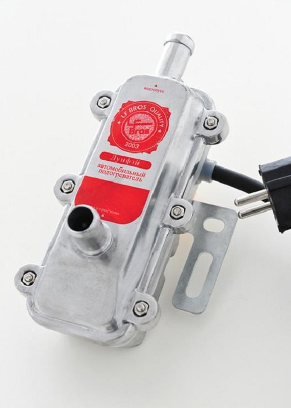 Предпусковой электрический подогреватель двигателя 3