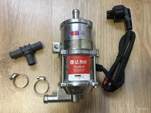 Подогреватель для подготовки двигателя к холодному запуску 2