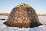 Палатки универсальные,  зимние,  походные бани.